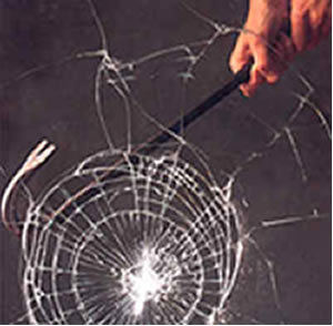 safety glass burgular proof shatter resistant anti theft